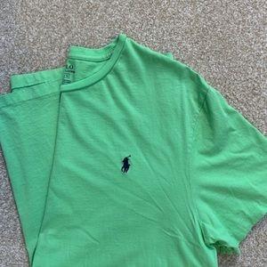 Polo by Ralph Lauren Green T-shirt, L